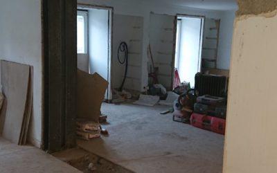 Ouverture de mur porteur dans une maison individuelle