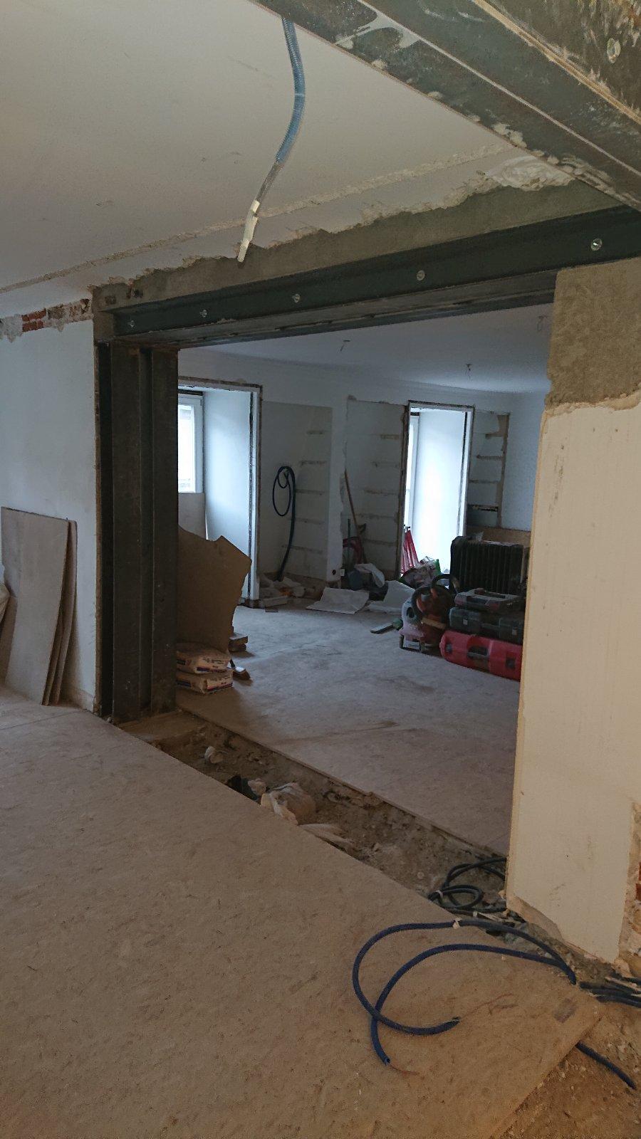 Ouverture de mur porteur dans une maison individuelle - Murs porteurs