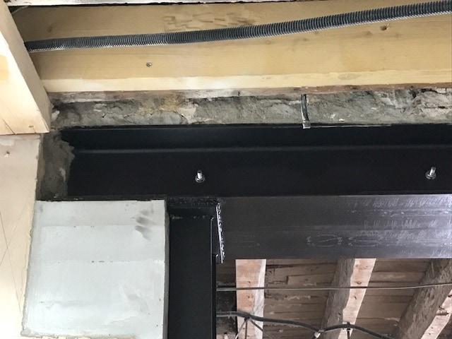 Rendre un salon plus lumineux et ouvrir l'espace - Murs porteurs
