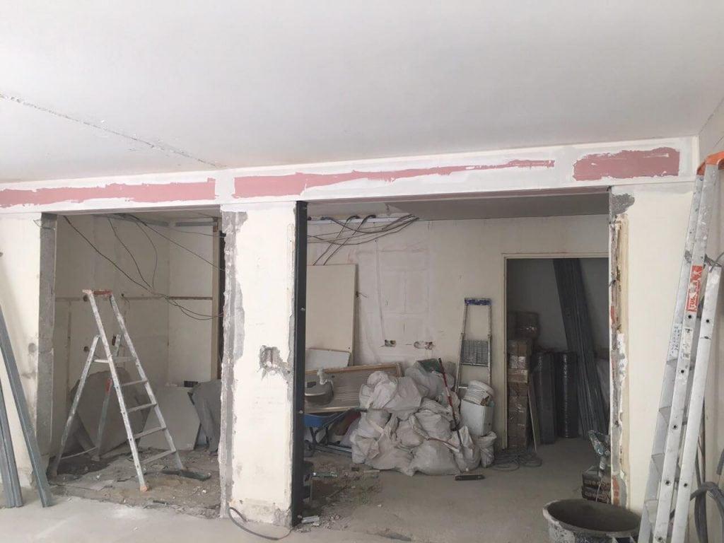 Modification de mur porteur - Murs porteurs