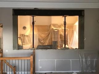 Ouverture 2 murs porteurs dans la maison a Nice - Murs porteurs