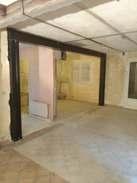 Ouverture mur porteur dans la maison entre salon et cuisine
