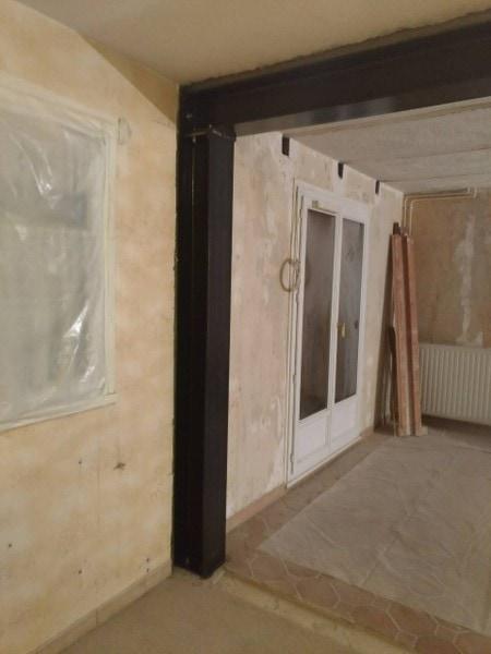 Ouverture mur porteur dans la maison entre salon et cuisine - Murs porteurs