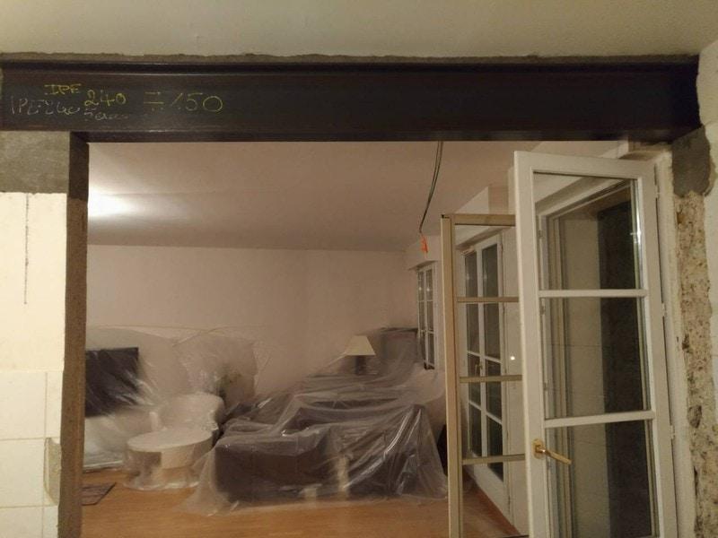 Création ouverture mur porteur entre salon et cuisine - Murs porteurs