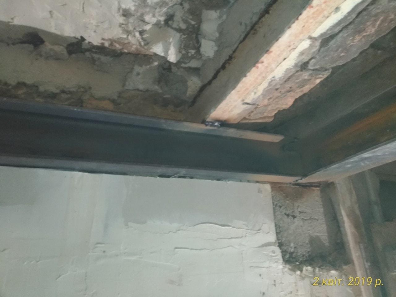 Reprise de plancher et consolidation par structure métallique