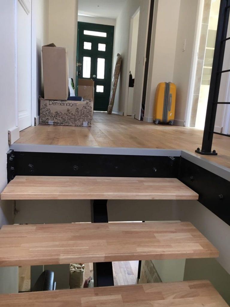 Création de trémie d'escalier et de l'escalier métallique sur mesure - Trémies