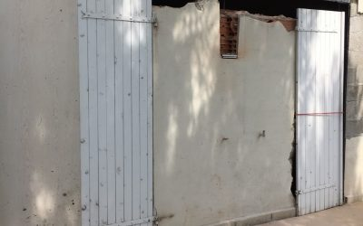 Agrandissement d'une baie avec démolition d'un mur porteur et renforcement par structure métallique à Antibes