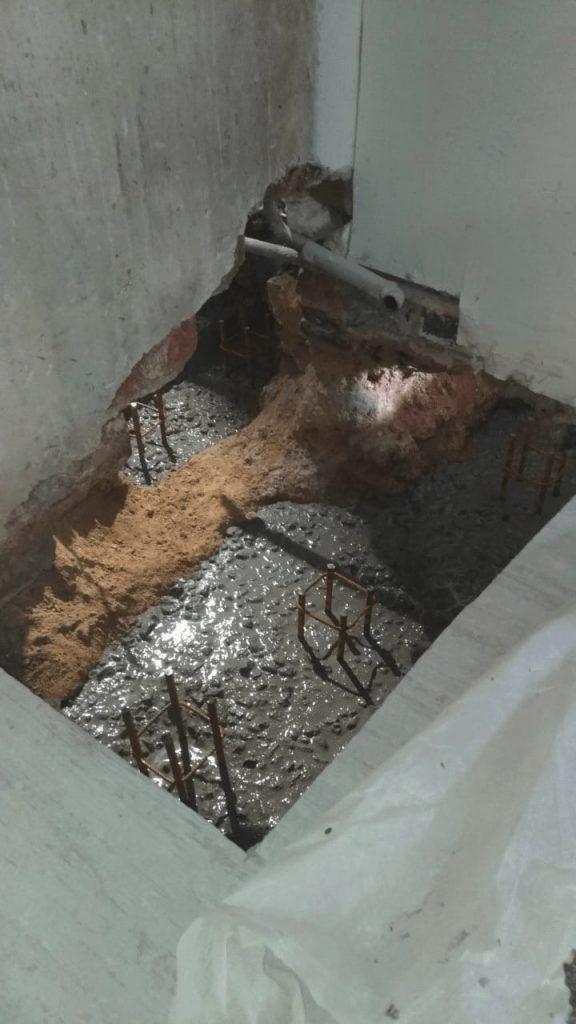 Démolition d'un mur porteur à Antibes et renforcement par structure métallique. - Murs porteurs