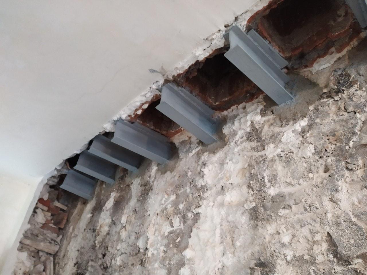 Murs porteurs - Démolition de mur de refend dans une maison individuelle à Toulon. 3