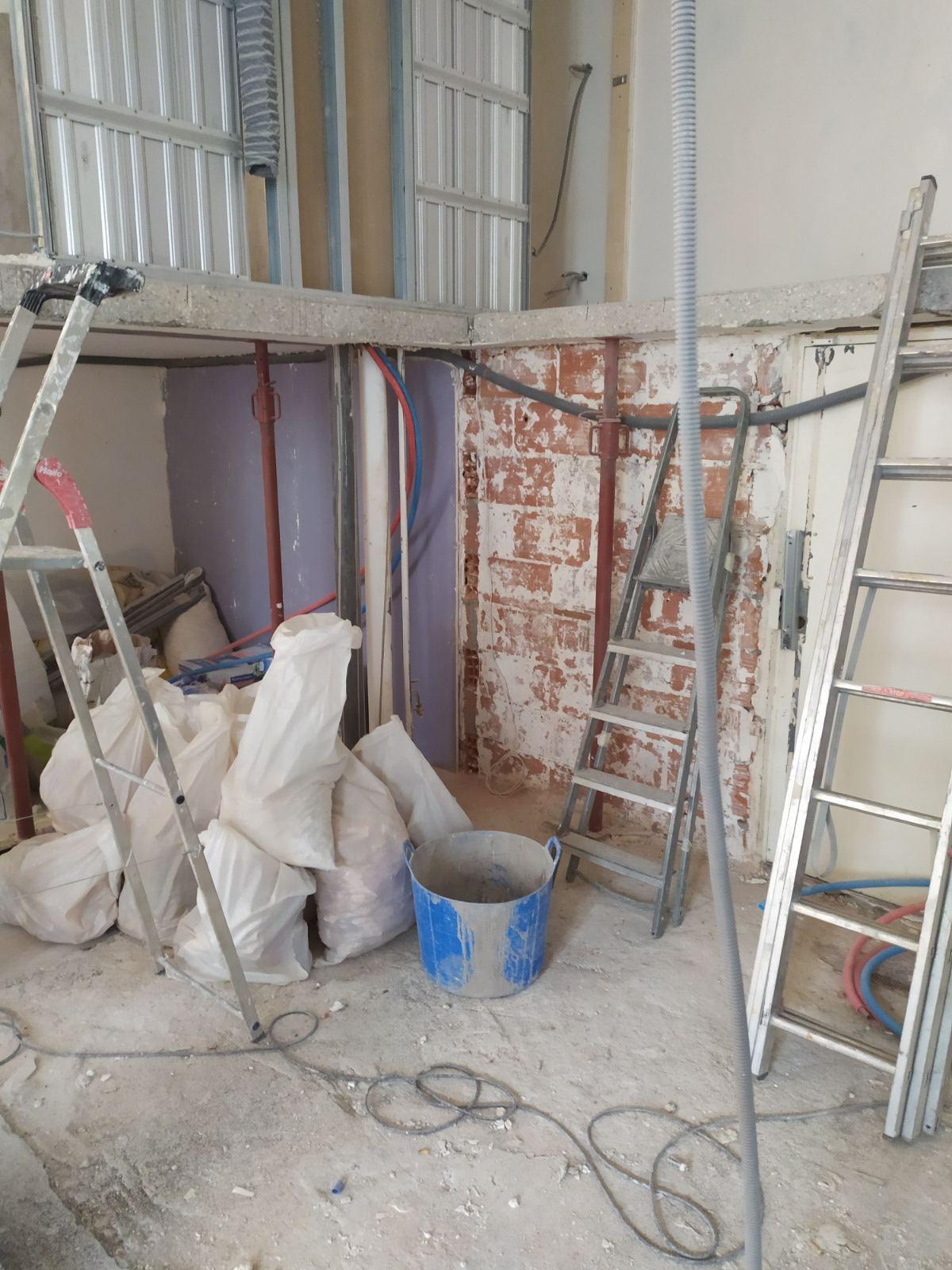 Réalisation de mezzanine sur mesure à Champigny-sur-Marne. Création de plancher collaborant. - Plancher collaborant