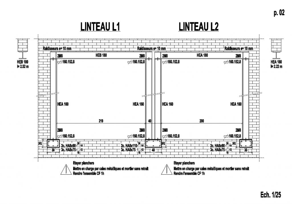 Démolition de mur de refend dans une maison individuelle à Toulon. - Murs porteurs